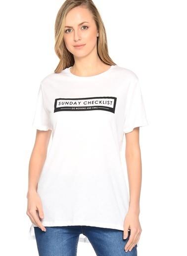 Shana Tişört Beyaz